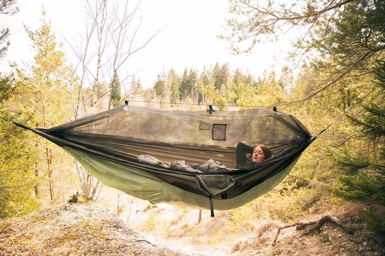 Amazonas Moskito Traveller Thermo XXL_Wald